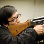 Thuan with a Rifle